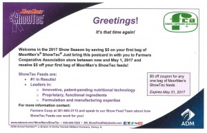 ShowTec First Post Card - April
